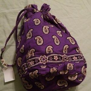 Vera Bradley Diddy draw string bag, nwot